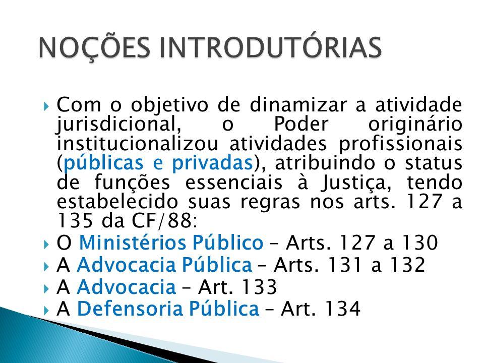 Ao conceituar o Ministério Público, o artigo 127 diz que ele é instituição permanente, essencial à função jurisdicional do Estado, incumbindo-lhe a defesa da ordem jurídica, do regime democrático e dos interesses sociais e individuais indisponíveis.