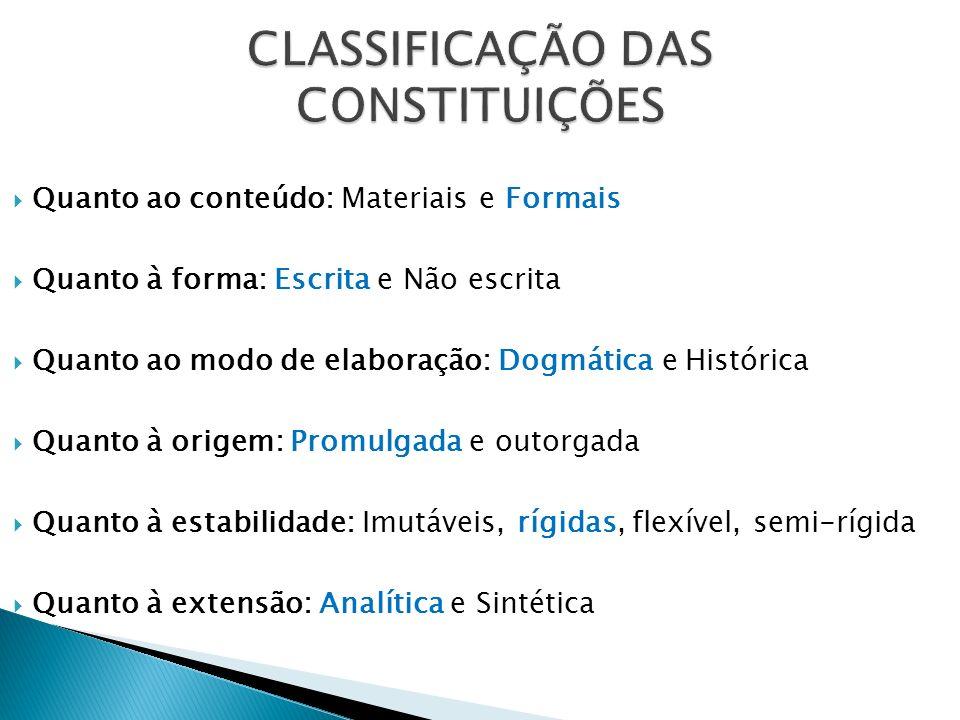 Normas Constitucionais de eficácia plena São auto-aplicáveis (não dependem de lei) e não podem se reduzidas Ex.:CF, art.