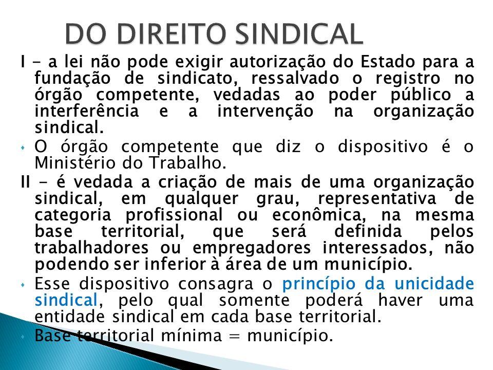 III - ao sindicato cabe a defesa dos direitos e interesses coletivos ou individuais da categoria, inclusive em questões judiciais e administrativas.