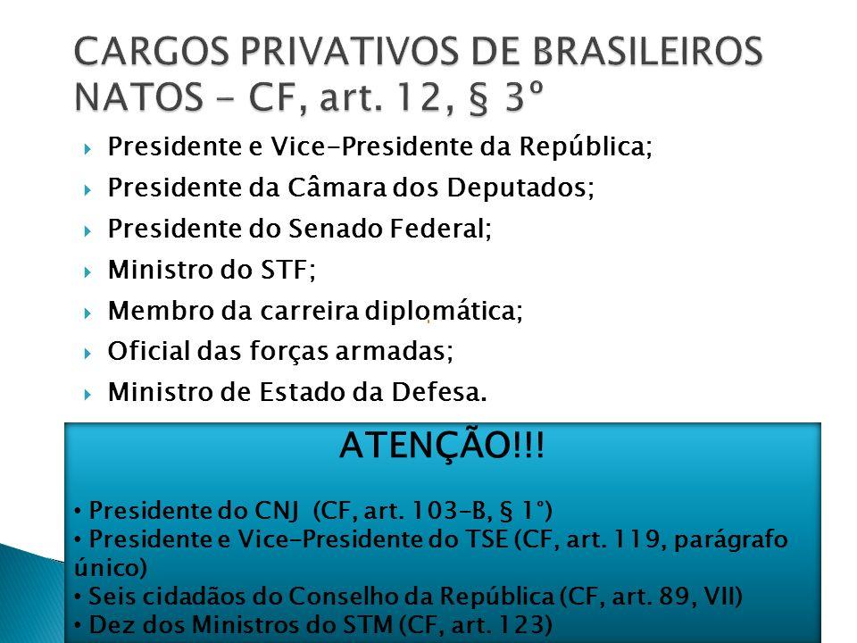 Embora o brasileiro nato nunca possa ser extraditado, ele pode perder a nacionalidade (deixar de ser brasileiro nato).