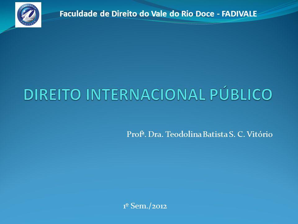 Profª.Dra. Teodolina Batista S. C.