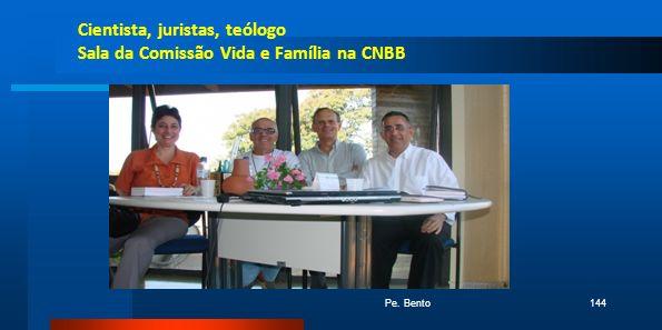 Cientista, juristas, teólogo Sala da Comissão Vida e Família na CNBB Pe. Bento144