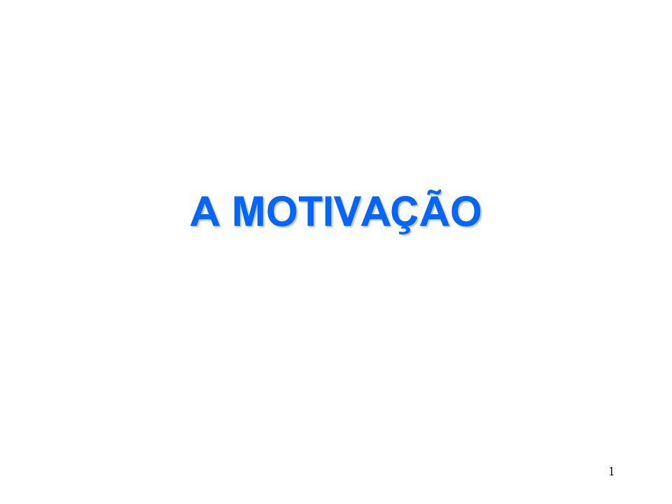 1 A MOTIVAÇÃO