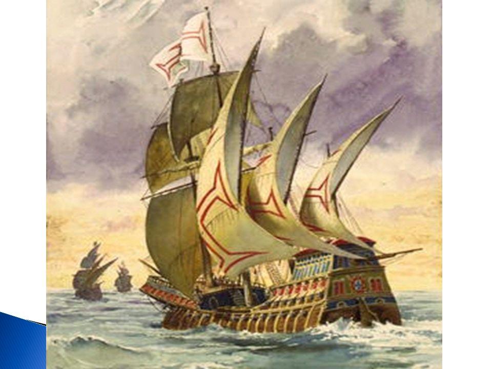 A grande novidade deste navio foi a utilização das velas triangulares em mar aberto, as quais permitiam que a caravela avançasse em zig- zag mesmo com