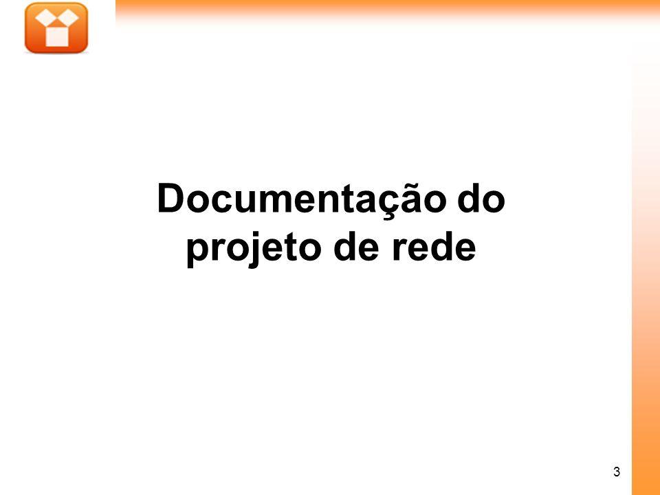 3 Documentação do projeto de rede