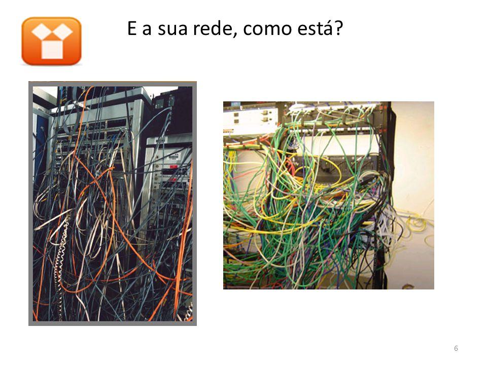 E a sua rede, como está? 6