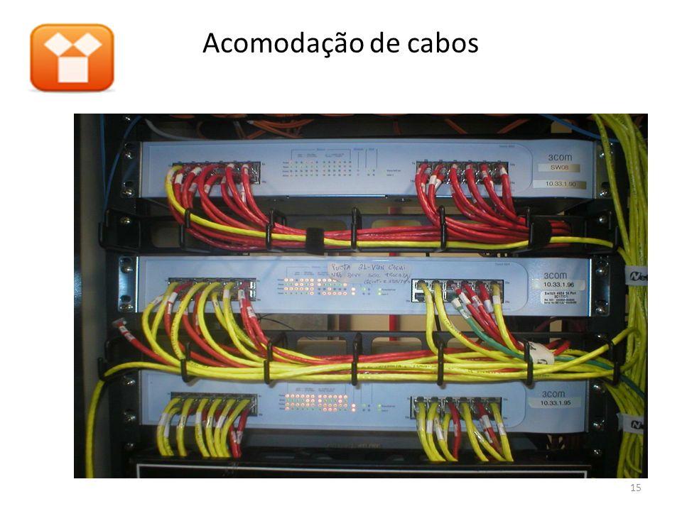 15 Acomodação de cabos
