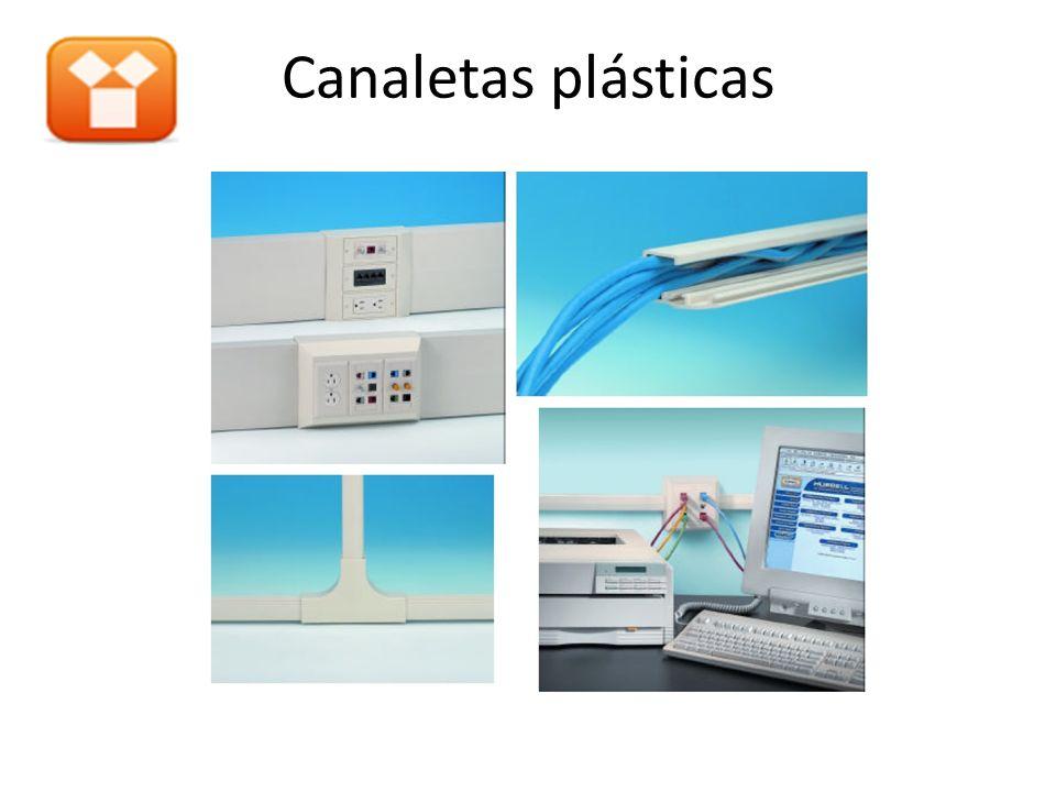 Canaletas plásticas