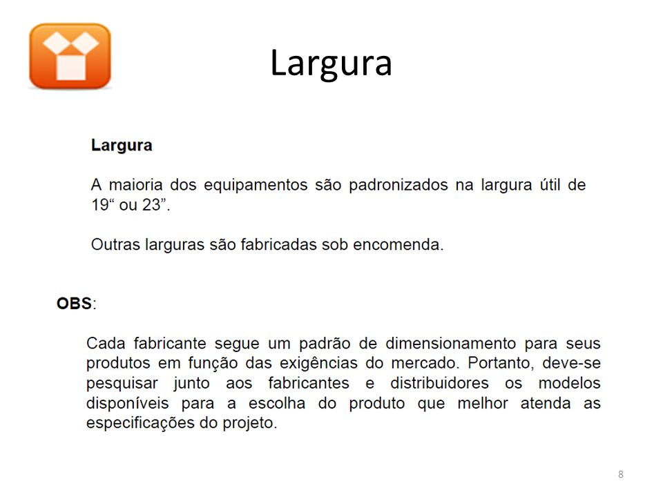 Largura 8