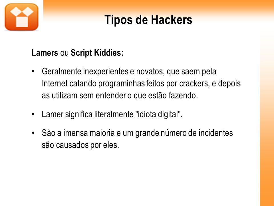 IP Spoofing É uma técnica na qual o endereço real do atacante é mascarado, de forma a evitar que ele seja encontrado.