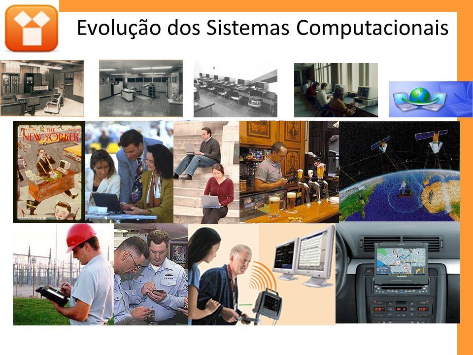 Evolução dos Sistemas Computacionais Computador Móvel