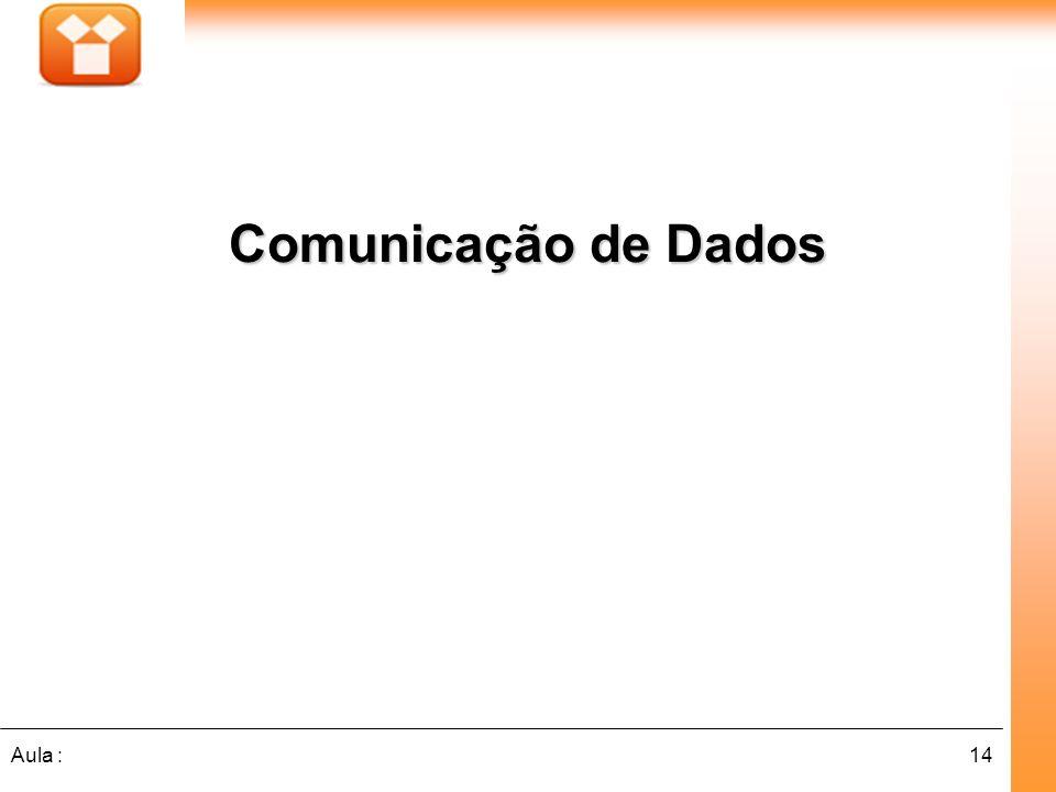 14Aula : Comunicação de Dados