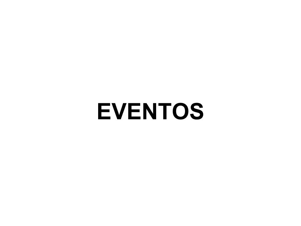 TIPOS DE EVENTOS Mostra, Exposição – Podem ser utilizadas como atração assessória, mas também podem ser o evento principal.