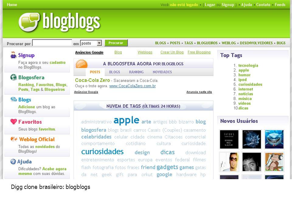 Digg clone brasileiro: blogblogs