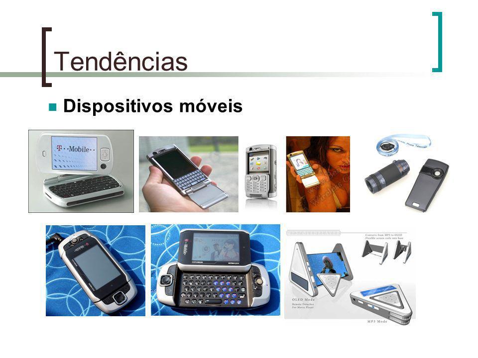 Tendências Dispositivos móveis