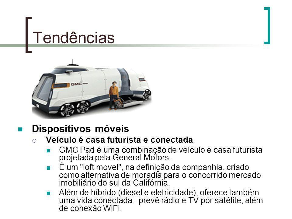 Tendências Dispositivos móveis Veículo é casa futurista e conectada GMC Pad é uma combinação de veículo e casa futurista projetada pela General Motors