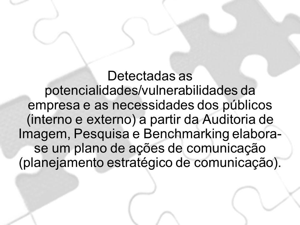 Detectadas as potencialidades/vulnerabilidades da empresa e as necessidades dos públicos (interno e externo) a partir da Auditoria de Imagem, Pesquisa