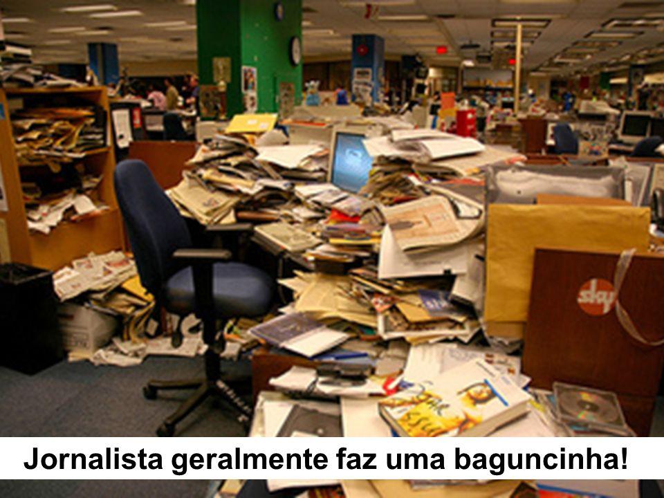 Sala de redação de jornal – fator web eliminando vagas