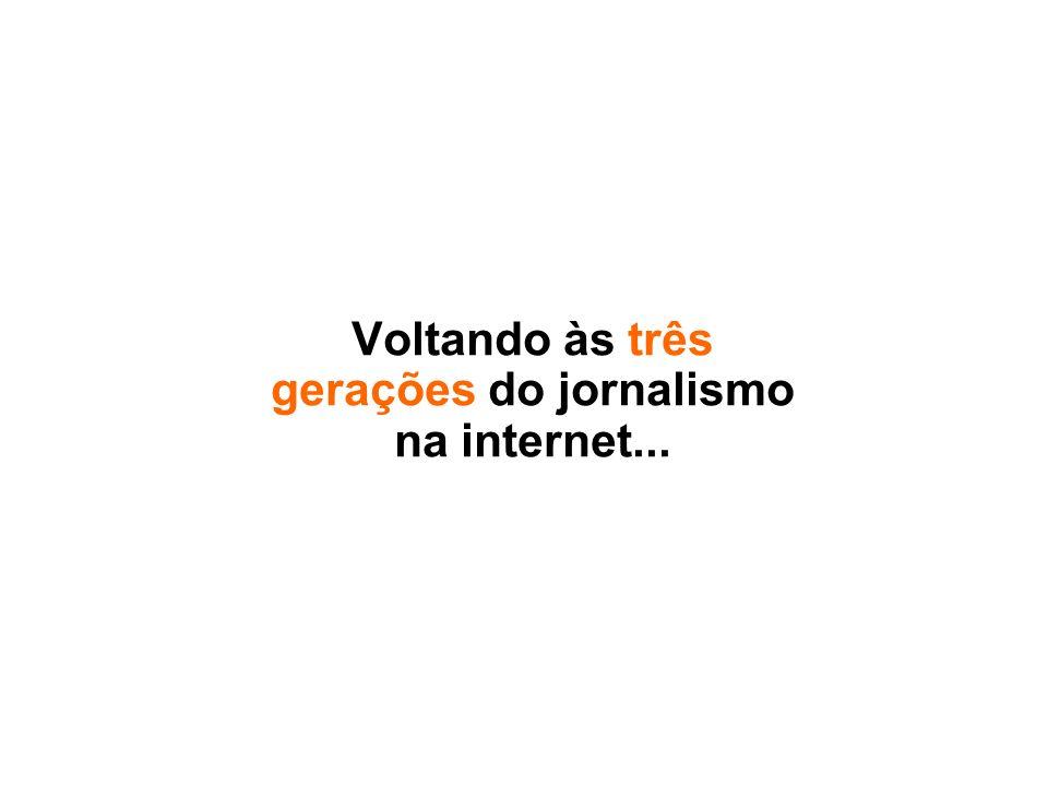 Multimidialidade É a capacidade que o jornalismo na web tem de concentrar em um mesmo ambiente diversos formatos de apresentação de informações, como texto, áudio, vídeo, fotografias e animações.