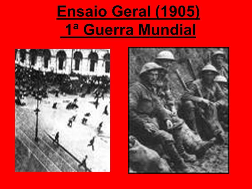 Ensaio Geral (1905) 1ª Guerra Mundial
