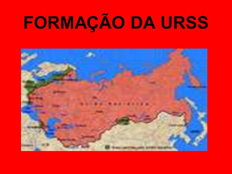 FORMAÇÃO DA URSS