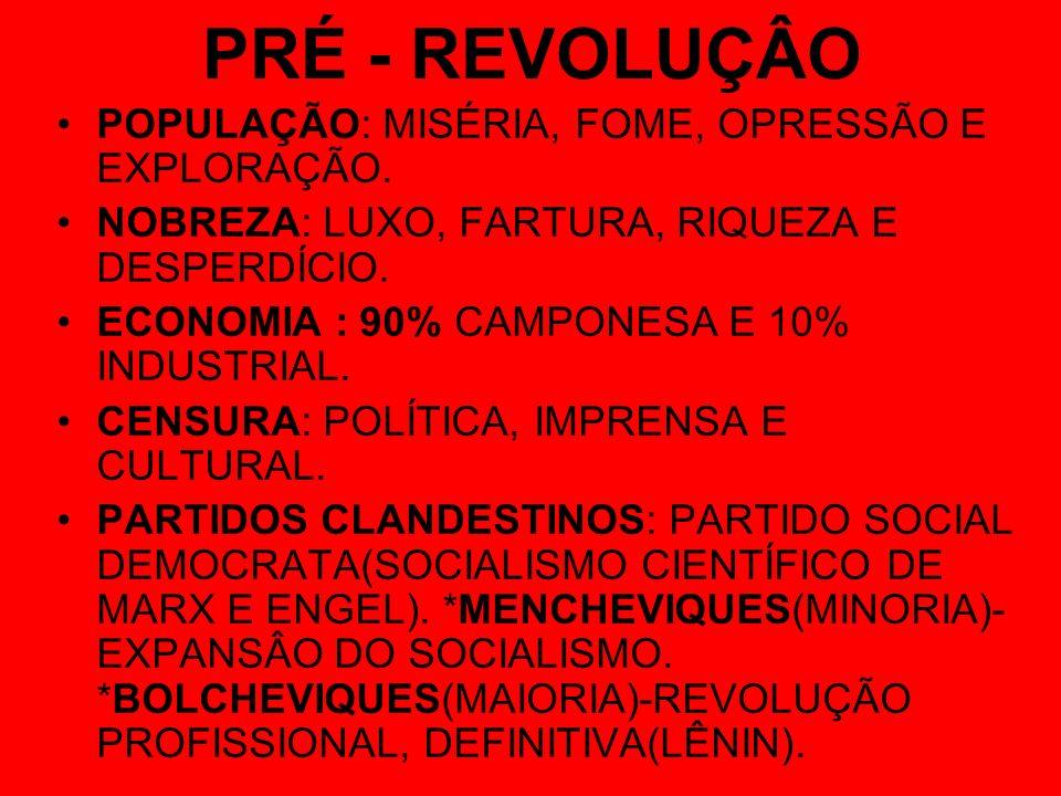 DIVISÃO DO MUNDO CAPITALISMO X SOCIALISMO