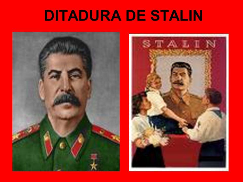DITADURA DE STALIN