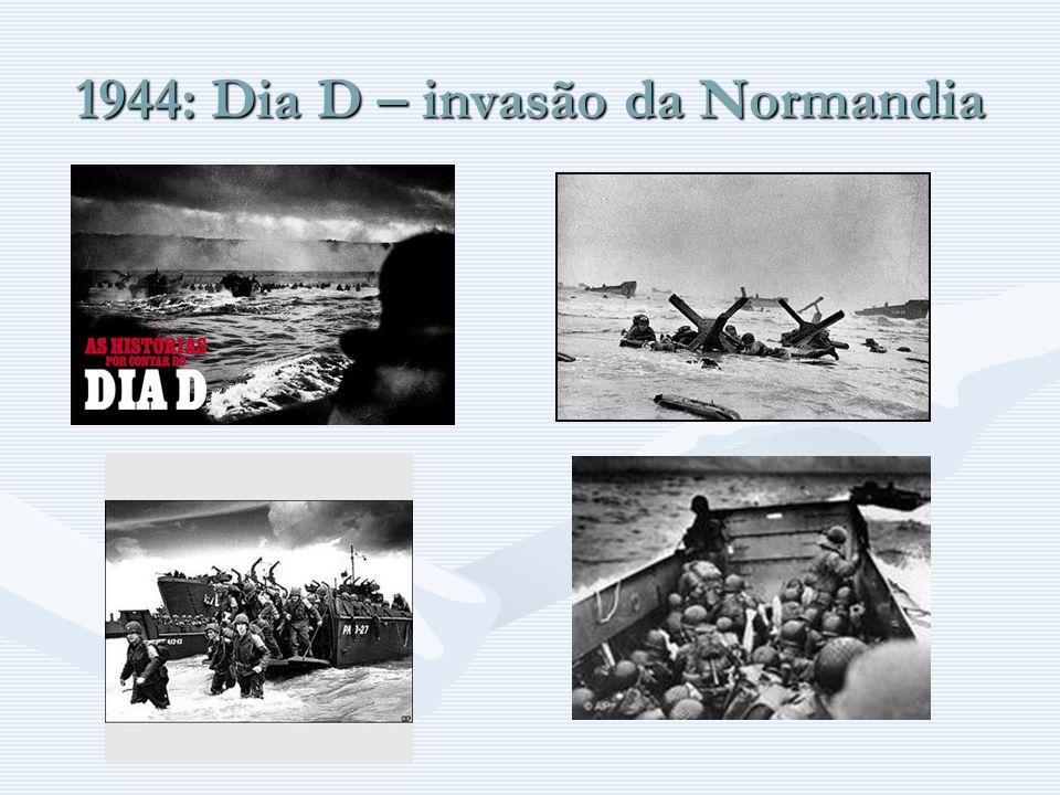 1944: Dia D – invasão da Normandia