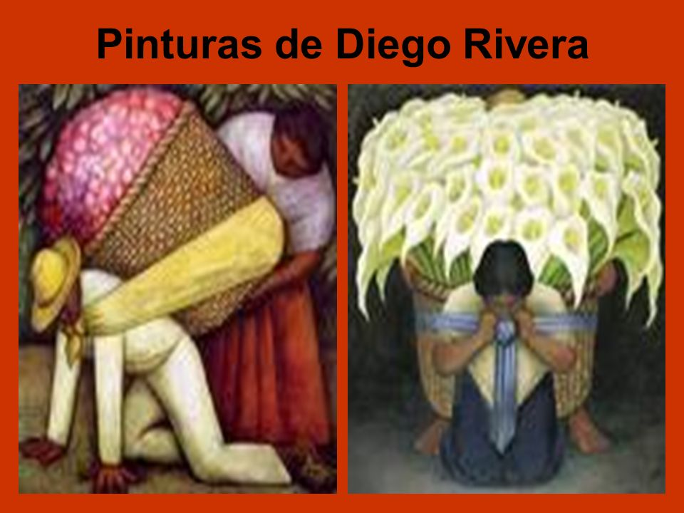 Pinturas de Diego Rivera