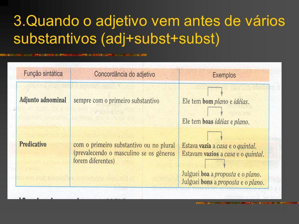 Concordância das palavras MEIO,BASTANTE e MESMO Depende da palavra à qual se referem: a.Quando se referem a substantivo, concordam com ele.