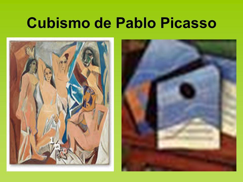 Cubismo de Pablo Picasso