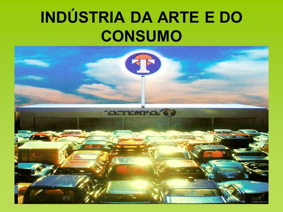 INDÚSTRIA DA ARTE E DO CONSUMO