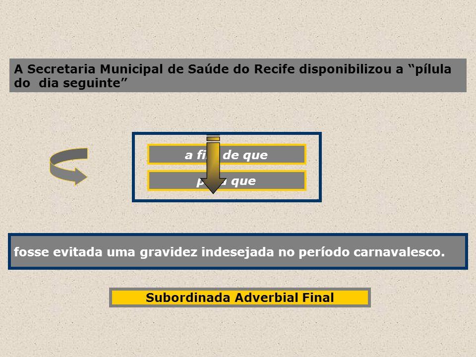 A Secretaria Municipal de Saúde do Recife disponibilizou a pílula do dia seguinte fosse evitada uma gravidez indesejada no período carnavalesco. a fim