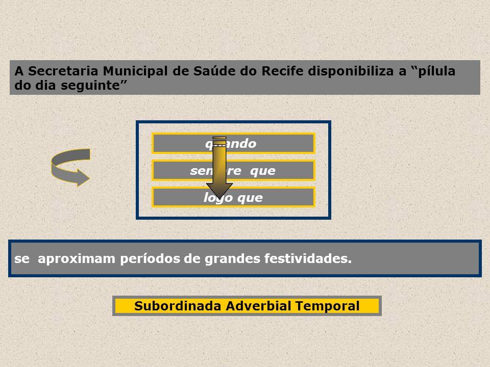 A Secretaria Municipal de Saúde do Recife disponibiliza a pílula do dia seguinte quando se aproximam períodos de grandes festividades. sempre que logo