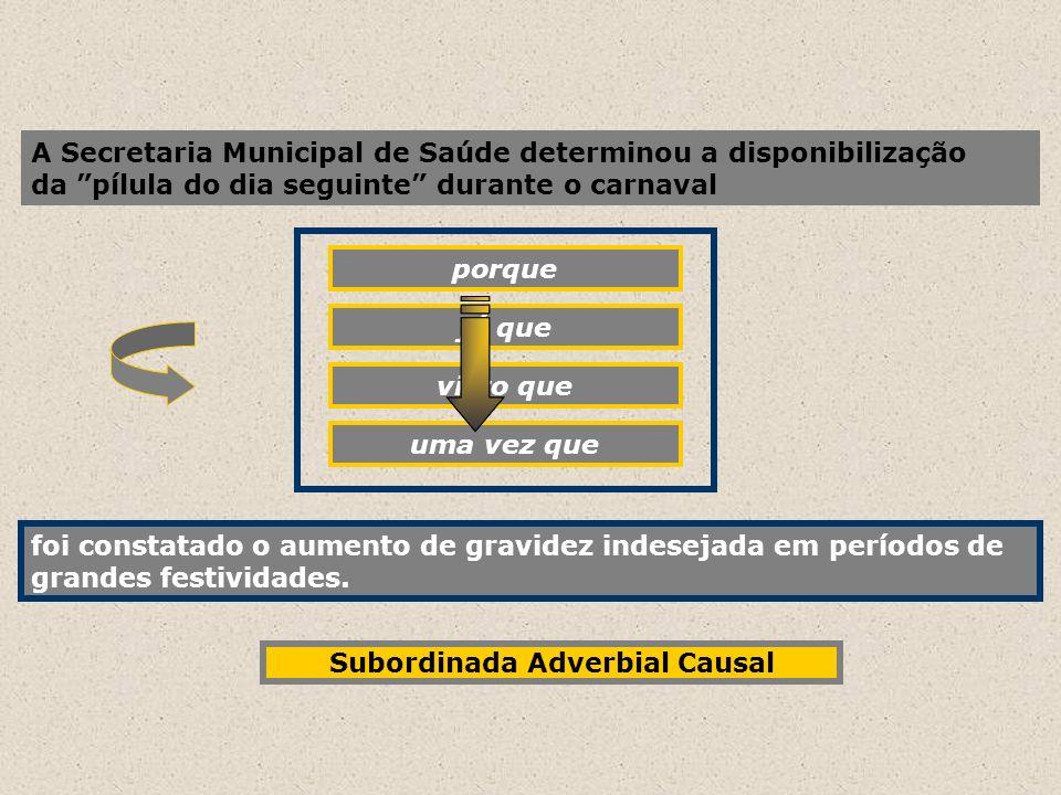 A Secretaria Municipal de Saúde determinou a disponibilização da pílula do dia seguinte durante o carnaval porque foi constatado o aumento de gravidez