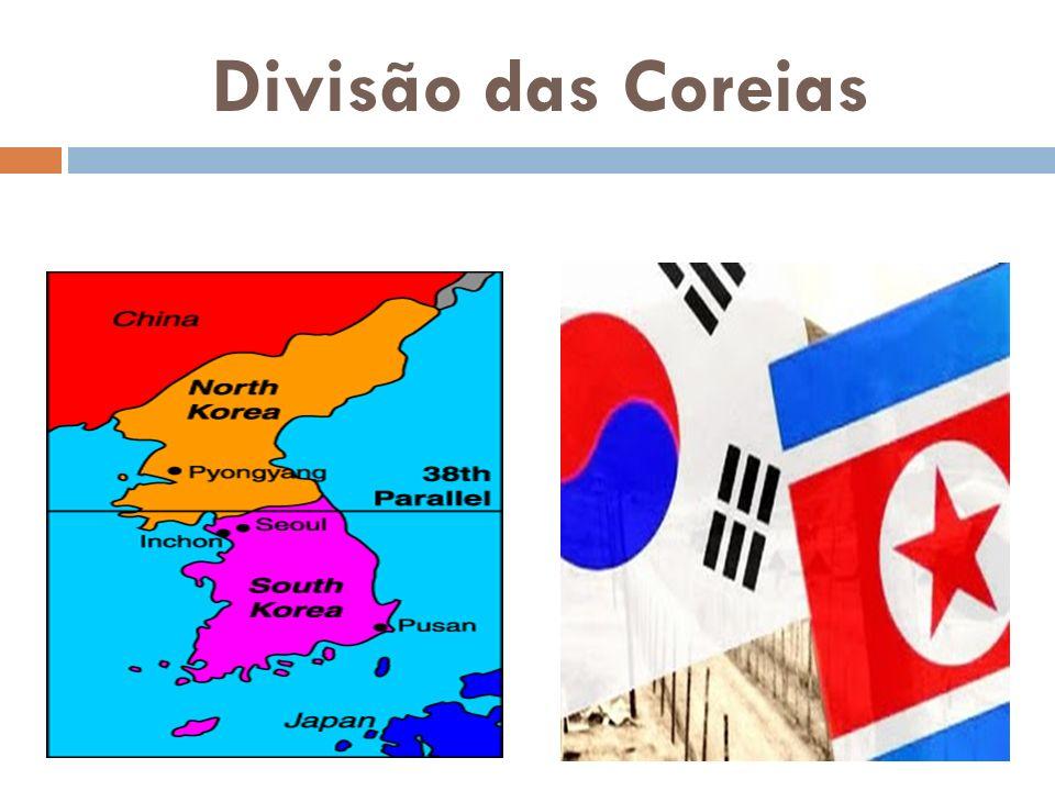 Divisão das Coreias