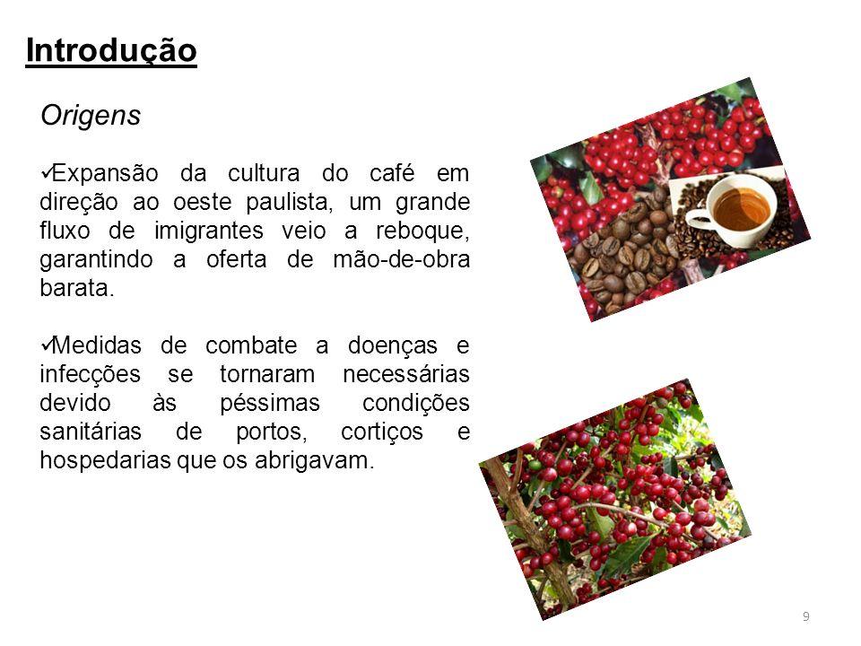 Expansão da cultura do café em direção ao oeste paulista, um grande fluxo de imigrantes veio a reboque, garantindo a oferta de mão-de-obra barata. Med
