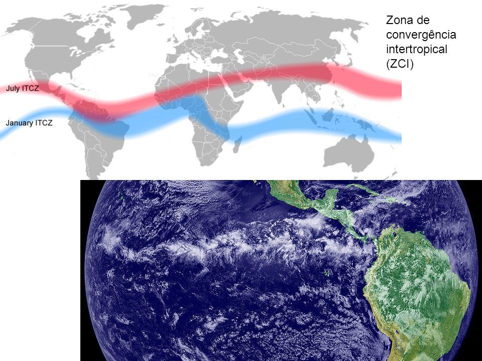 Zona de convergência intertropical (ZCI)