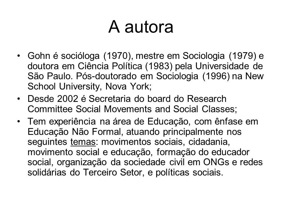 Considerações Finais – Conceito de movimento social na bibliografia geral das ciências sociais Na Europa, a partir de 60, um novo paradigma para as ações sociais (estudantes, mulheres, paz, ecologia), tornando os MS como tema central de investigação: Abordagem neomarxista.
