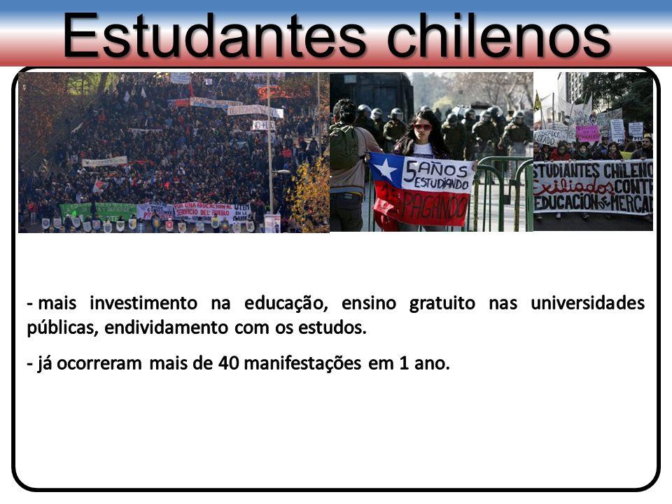 Estudantes chilenos