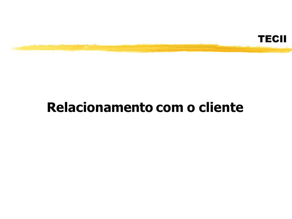 TECII Relacionamento com o cliente