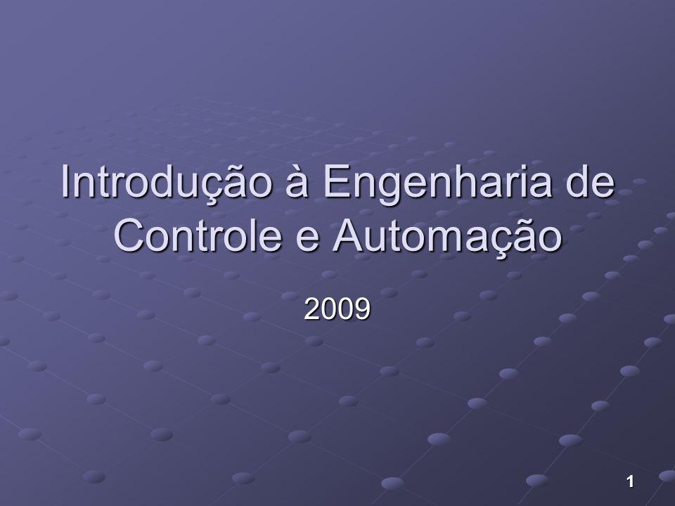 1 Introdução à Engenharia de Controle e Automação 2009