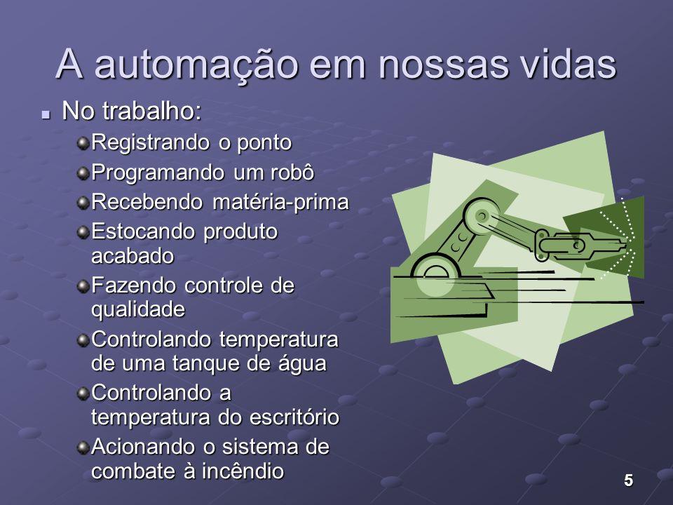 36 Arquitetura da Automação Industrial Nível 5: Administração dos recursos financeiros, vendas e RH.