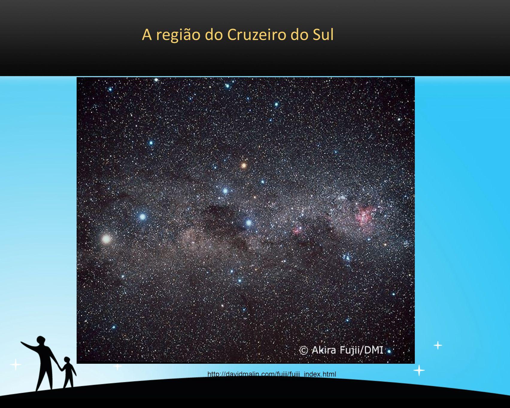 A região do Cruzeiro do Sul http://davidmalin.com/fujii/fujii_index.html