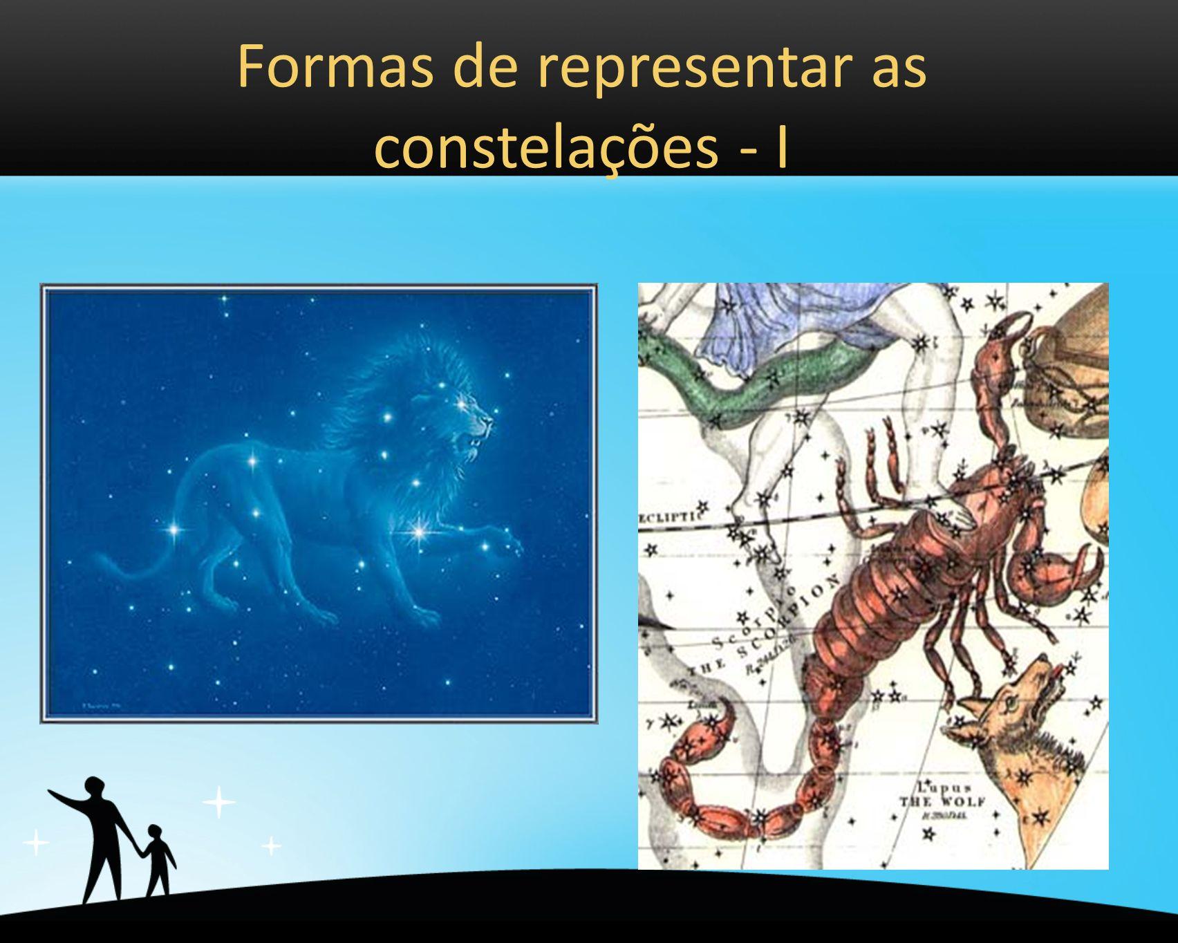 Formas de representar as constelações - I