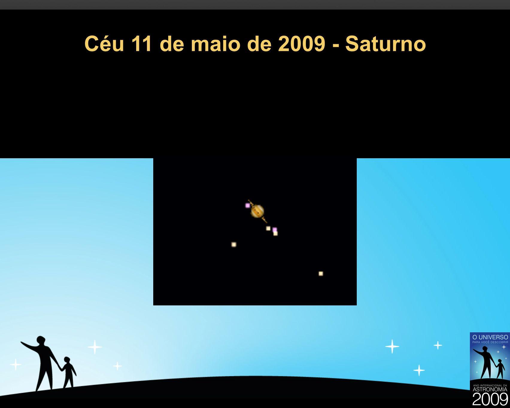 Céu 11 de maio de 2009 - Saturno