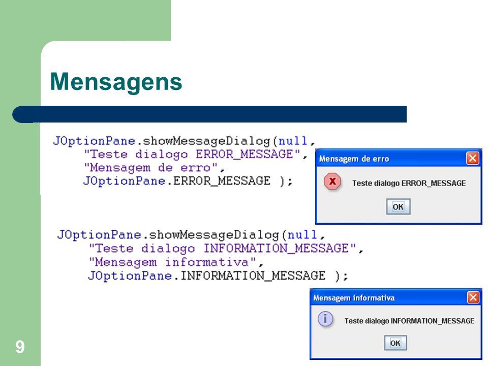 9 Mensagens