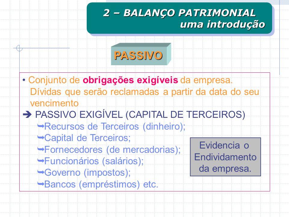 Conjunto de bens e direitos de propriedade (há exceção) da empresa, mensuráveis monetariamente, que representam benefícios presentes ou futuros. Bens
