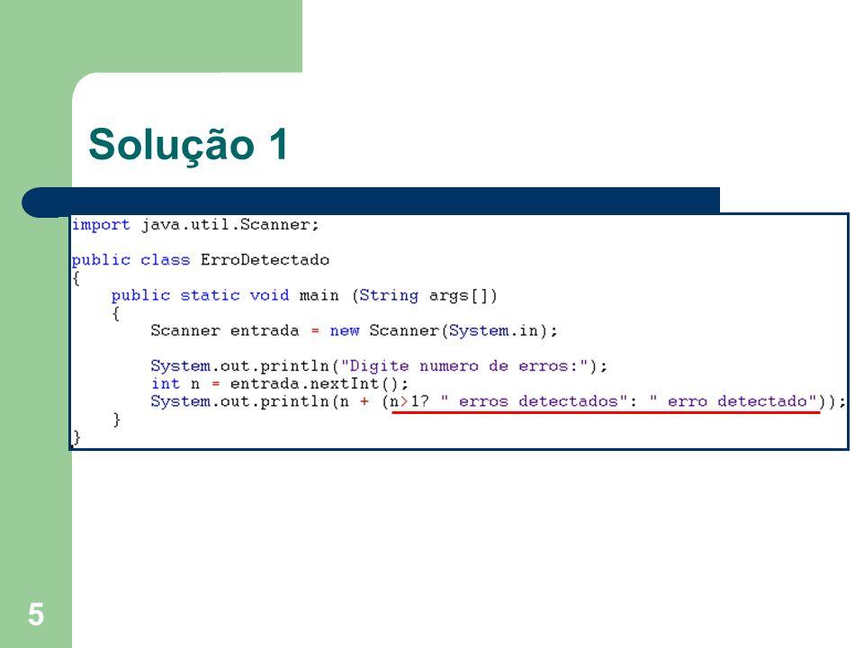 26 Lógica para a solução Leia n; Use um laço de repetição para somar seus dígitos; Após o laço, obtenha o DV pelo resto da divisão por 10; Imprima o número da conta formatado, incluindo o DV;