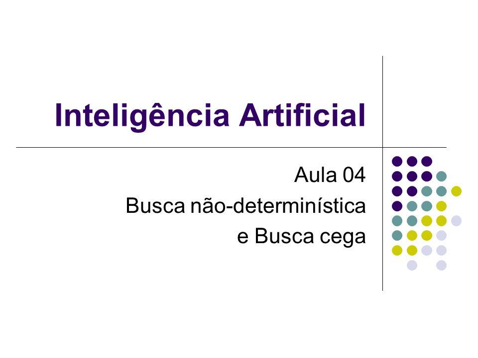 Inteligência Artificial Aula 04 Busca não-determinística e Busca cega